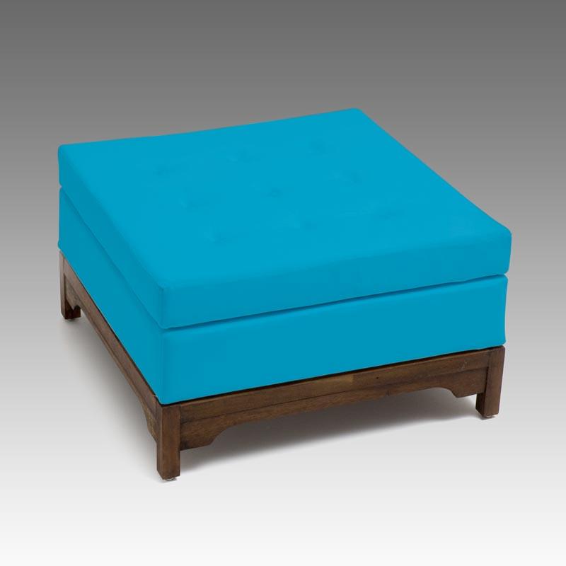 puff mantova azul turquesa p chins
