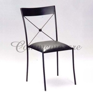 Cadeira Ferro Preta