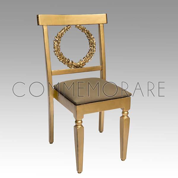 Cadeira Valentino Dourada