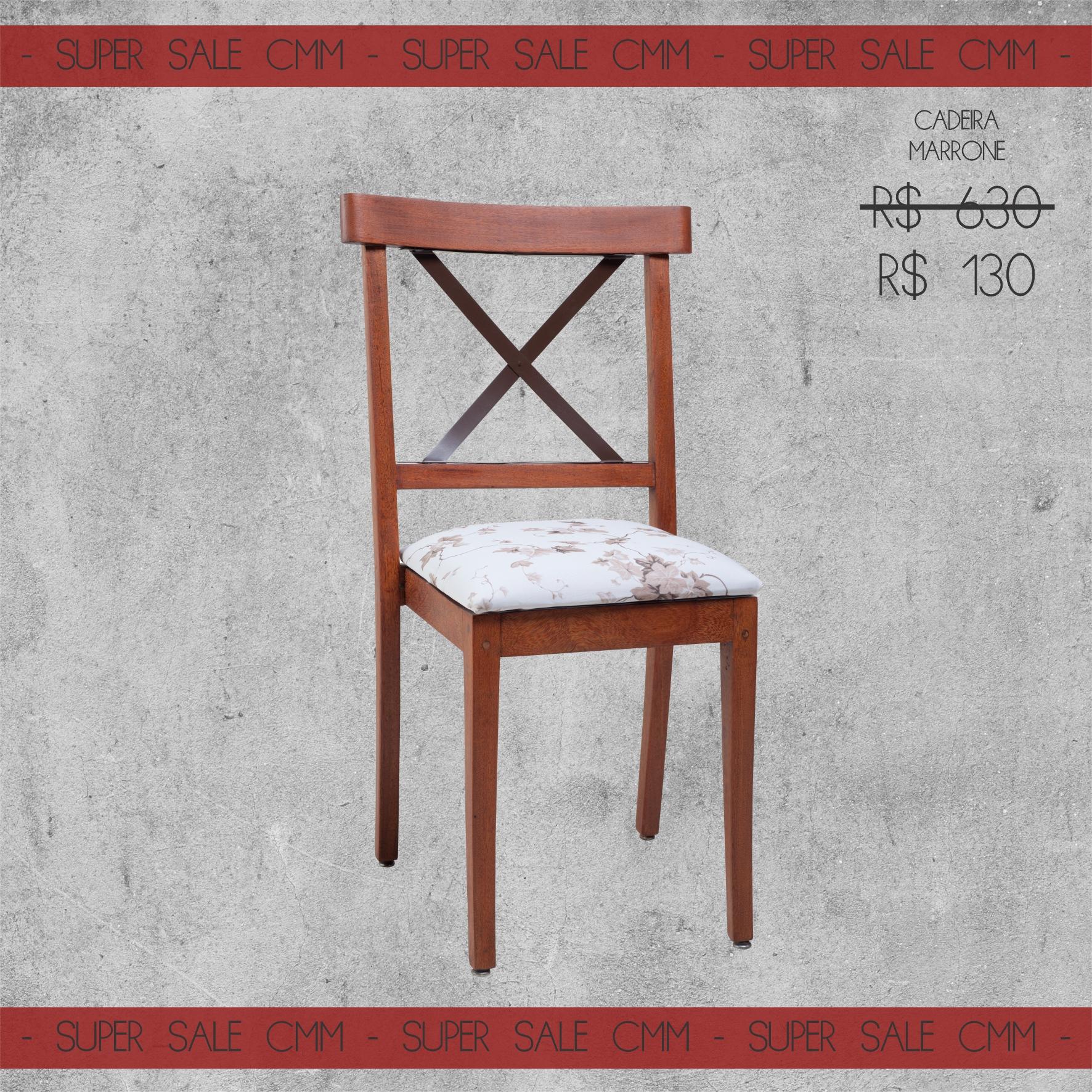 Super Sale Cadeira Marrone