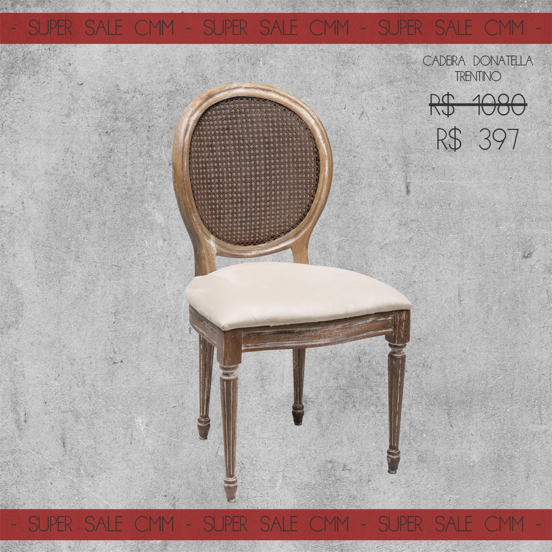 Super Sale Cadeira Donatella Trentino