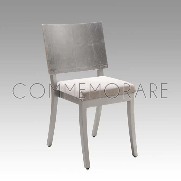 Cadeira Armani Prata